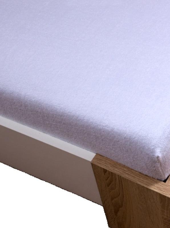 Homa froté detská plachta biela 60x120cm