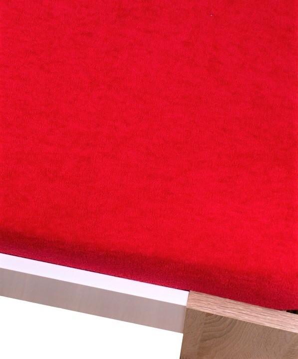 Homa froté plachta červená - 180 x 200 cm