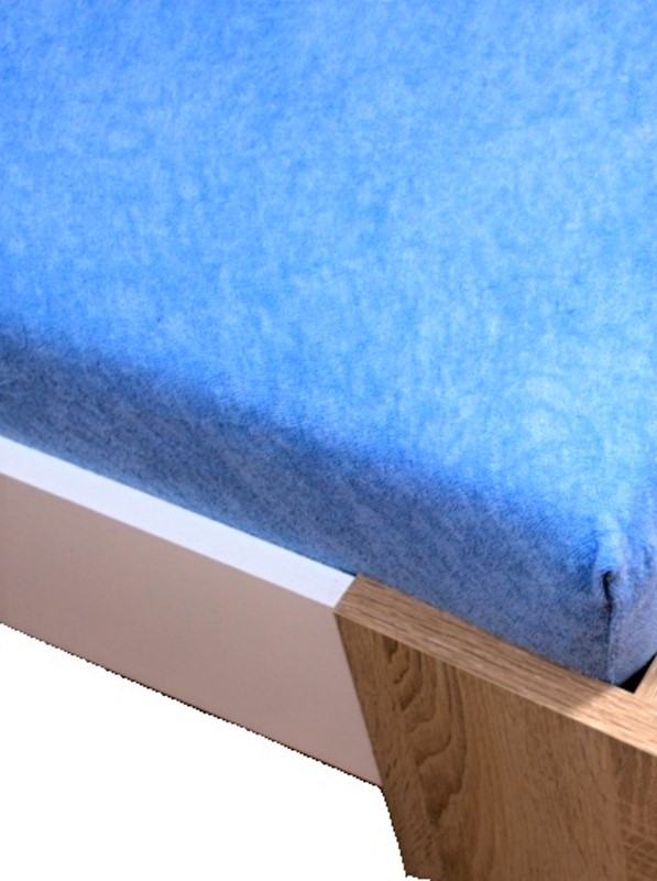 Homa froté plachta modrá svetlá - 200 x 220 cm