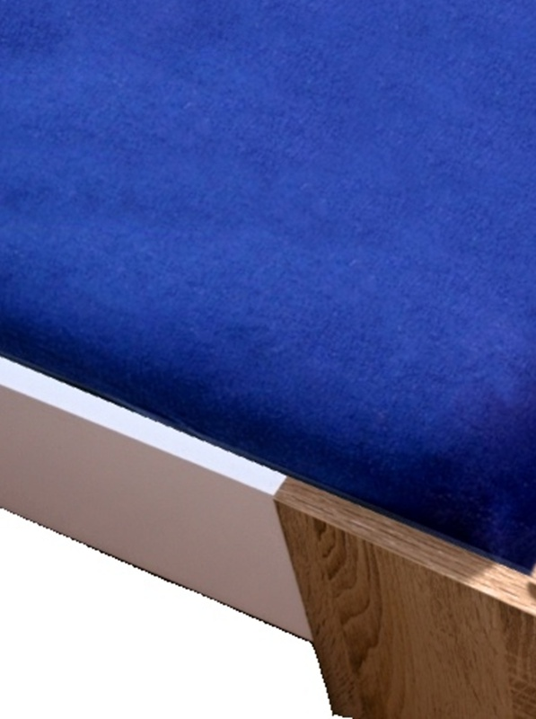 Homa froté plachta modrá tmavá - 160 x 200 cm