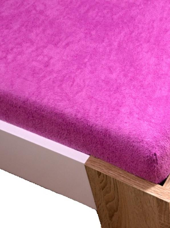 Homa froté plachta ružová 60x120cm