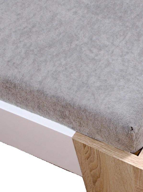 Homa froté plachta sivá svetlá - 140 x 200 cm