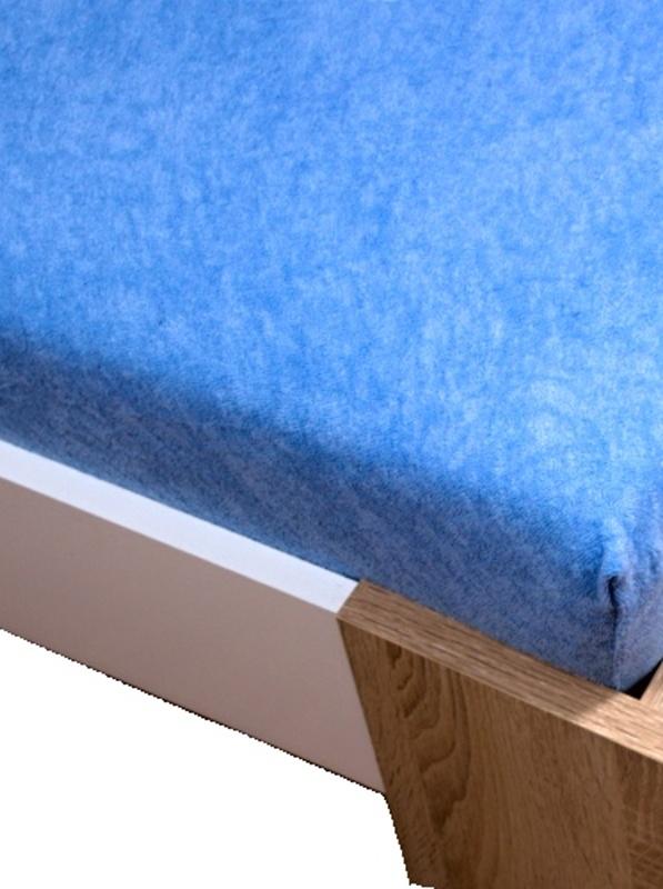 Homa froté plachta svetlo modrá 60x120cm