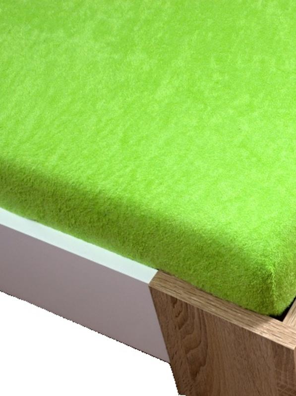 Homa froté plachta zelená svetlá - 180 x 200 cm