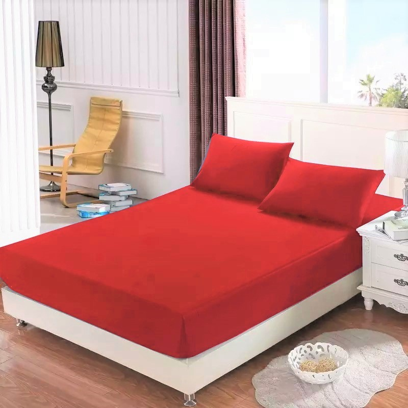 Homa jersey plachta červená 145g - 200 x 220 cm