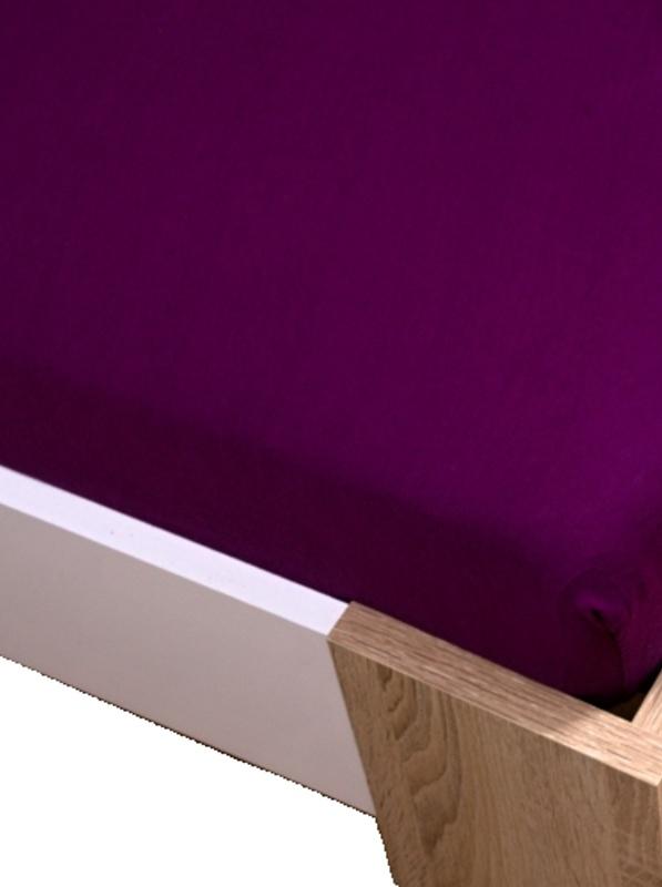 Homa jersey plachta fialová 60x120cm