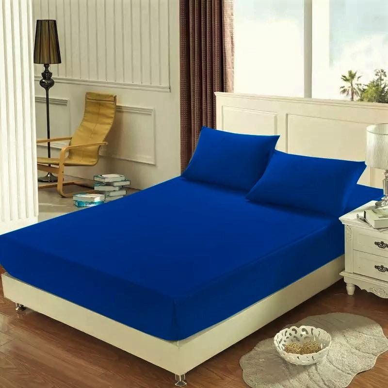 Homa jersey plachta tmavo modrá 145g - 200 x 220 cm