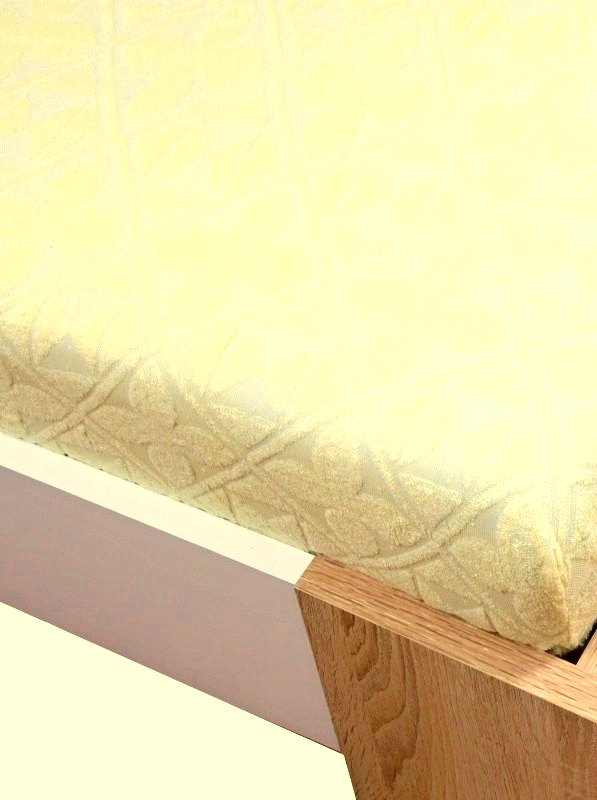 Homa žakar plachta žltá 2 - 100 x 200 cm