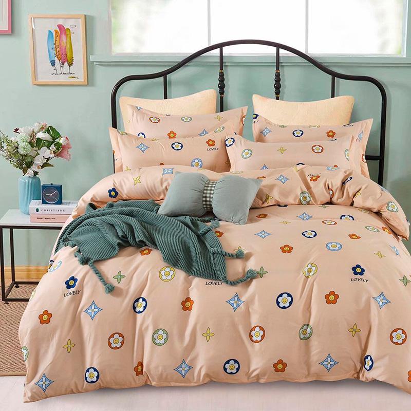 Obliečky LOVELY - 140 x 200 cm - 3 SET 1x vankúš 1x malý vankúš 1x prikrývka